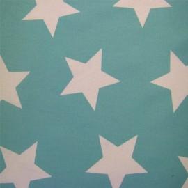 ♥ Coupon 300 cm X 150 cm ♥ Giant Stars Fabric - Azure
