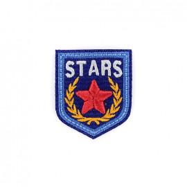 Thermocollant Blason brodé Stars - bleu