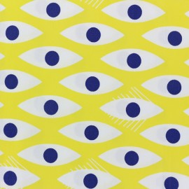 Tissu popeline Madame casse bonbon - Zieux x 10cm