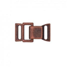 Fermoir métal crochet et oeil - cuivre