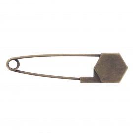 Kilt safety pin Keyliah - bronze