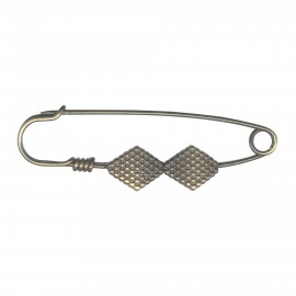 Kilt safety pin Kahina - bronze