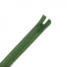 Fermeture Eclair® non séparable - vert olive