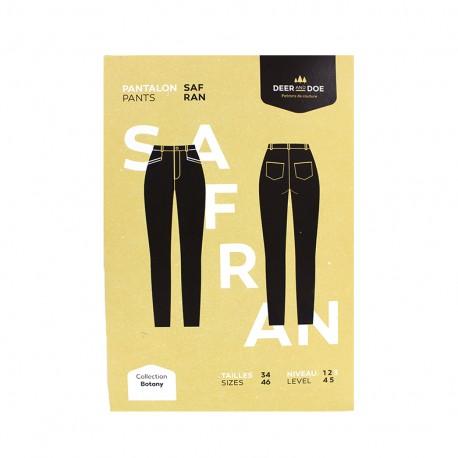 Patron Deer and Doe - Patron pantalon Safran