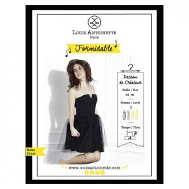 Sewing pattern - dress Formidable