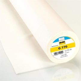 Vlieseline hot-melt canvas covering – white x 10cm
