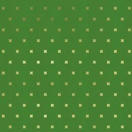 Tissu coton Xoxo - picnic metallic  x 10cm