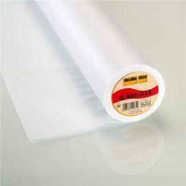 Entoilage thermocollant non tissé G405 Vlieseline Blanc x10cm