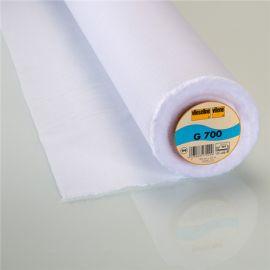 Entoilage thermocollant tissé polyvalent G700 Vlieseline blanc x 10cm