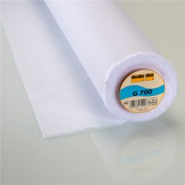 G700 Vlieseline polyvalent woven hot-melt canvas covering ? White x10cm