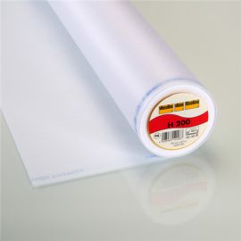 H200 Vlieseline hot-melt canvas covering – White x 10cm