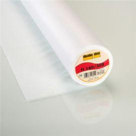 Entoilage thermocollant H180 Vlieseline blanc x 10cm
