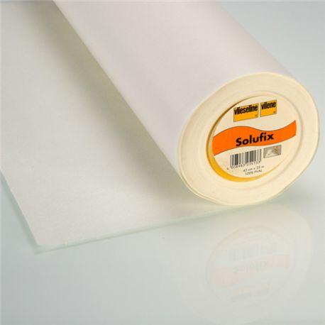 SOLUFIX non tissé autocollant soluble à l'eau Vlieseline x10cm