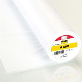 Entoilage léger thermocollant Vlieseline H609 - blanc x 10cm