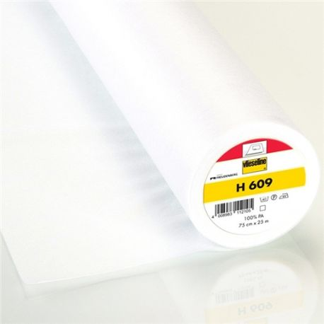 Vlieseline hot-melt light canvas covering H609 – white x 10cm