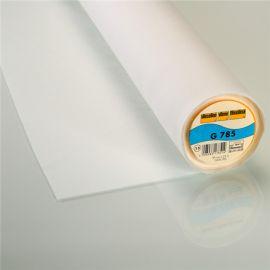 Entoilage thermocollant bi-stretch G785 Vlieseline blanc x 10cm
