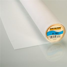 G785 Vieseline bi-stretch hot-melt canvas covering – White x 10cm