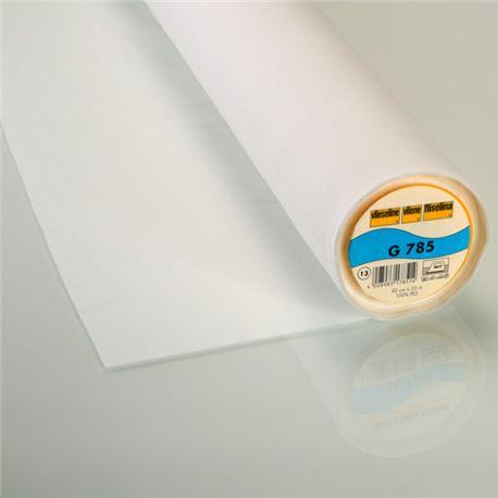 G785 Vieseline bi-stretch hot-melt canvas covering ? White x 10cm