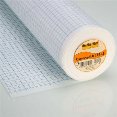 Patron déchirable - Rasterquick carrés 453 Vlieseline x10cm