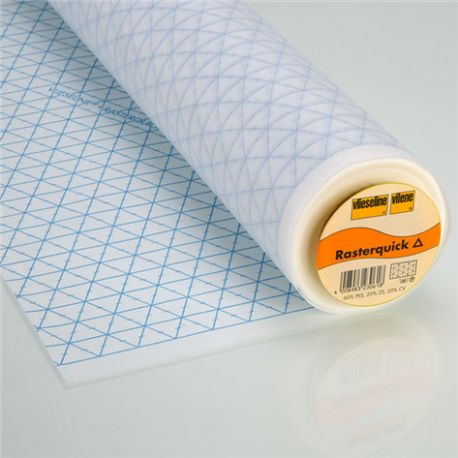 Tearable pattern - Rasterquick Triangles Vieseline x10cm