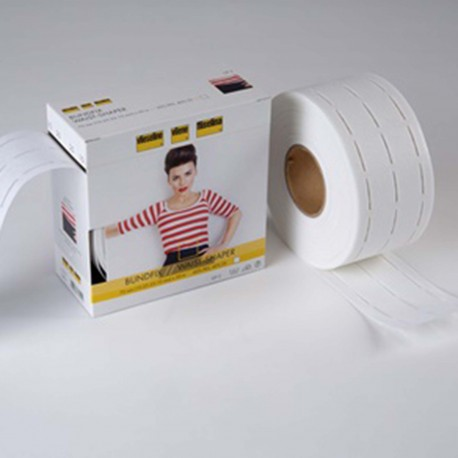 Perfobande (width 30 mm) Vlieseline ? White x1m