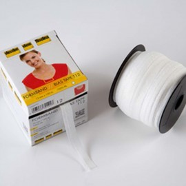 Stabilmanche - formband interfacing bias tape x 1m – white