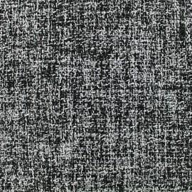Woolen tweed fabric John - grey x 10cm