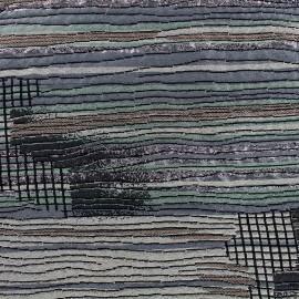 Lurex jacquard Fabric - Sonora x 10cm