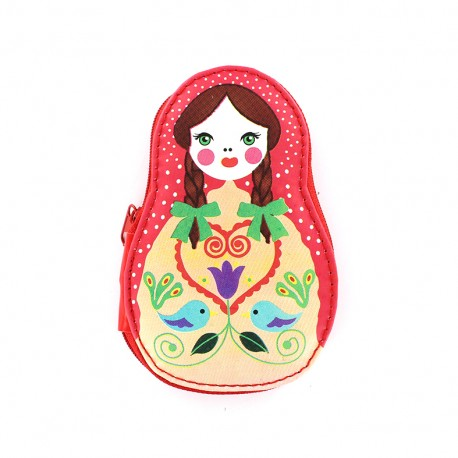 Nécessaire de couture Poupée russe - rouge