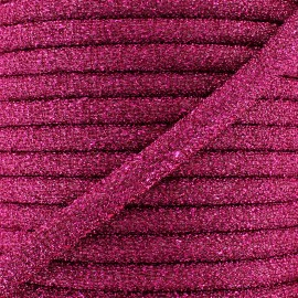 Cordon lurex Party - fuchsia x 1m