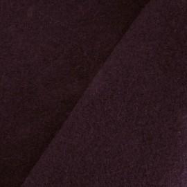 Boiled wool - burgoundy x 10cm