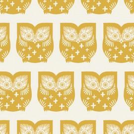 Tissu Coton AGF - Hus Hoot Gul x 15cm