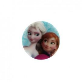 Bouton Disney La reine des neiges - Anna & Elsa
