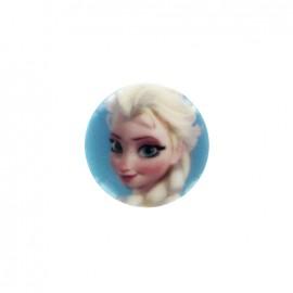 Bouton Disney La reine des neiges - Elsa