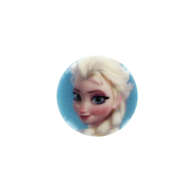 Bouton disney la reine des neiges elsa ma petite mercerie - La reine des neige elsa ...