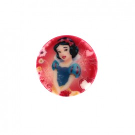 Bouton Disney Blanche- Neige