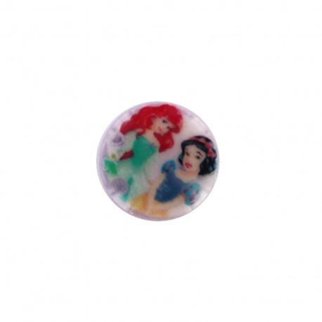 Disney Button  - Snow white and Ariel