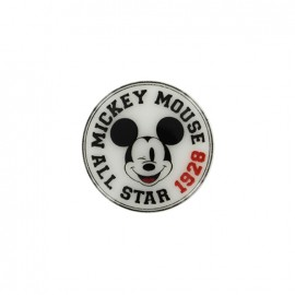 Mickley mouse Disney Button - All Star 1928