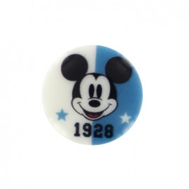Mickley mouse Disney Button 1928 - blue