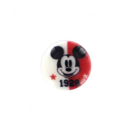 Mickley mouse Disney Button 1928 - red