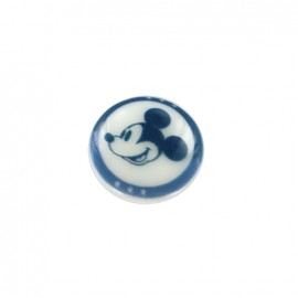 Bouton Disney Mickey - bleu