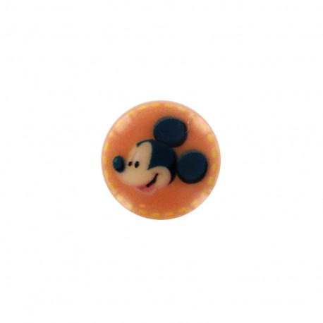 Mickley mouse Disney Button - orange