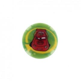 Cars Disney Button Flash McQueen - green