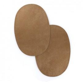 Coudières simili cuir - cuivre