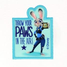 Thermocollant Brodé Zootopie -  Judy Hopps PAWS