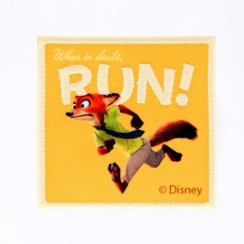 Thermocollant Brodé Zootopie -  Nick Wilde RUN!