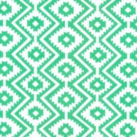 Tissu Eduardo - green x 10cm