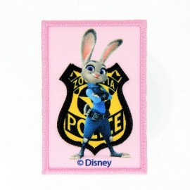 Thermocollant Brodé Zootopie - Judy Hopps POLICE