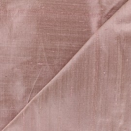 Wild Silk Fabric - old pink x 10cm