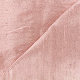 Wild Silk Fabric - light pink x 10cm
